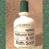 Aubrey Organics vegederm NATURAL Baby & Kids Bath Soap