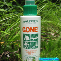 Aubrey Organics Gone! Safe & Natural Outdoor Spray