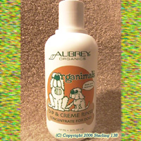 Aubrey Organics ORGANIMALS Dip & Creme Rinse for Dogs