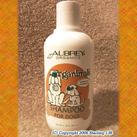 Aubrey Organics ORGANIMALS SHAMPOO 4DOGS 100% Natural!!