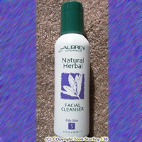 AUBREY Organics NATURAL HERBAL FACIAL CLEANSER oily SKIN