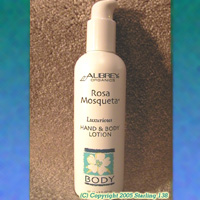 Aubrey Organics Rosa Mosqueta Luxurious hand & body Lotion