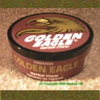 GOLDEN EAGLE Herbal Chew Tobacco free DIP CINNAMON