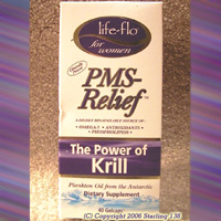 Life-Flo PMS Relief THE POWER OF KRILL 40 gelcaps