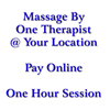 2-Hand Therapeutic Massage (1 Therapist ONLY) 1 HOUR