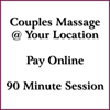 Couples Massage 90 Minutes