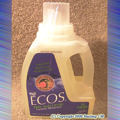 ECOS Laundry Detergent w/Soy based Fabric Softener 53oz