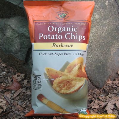 Organic BBQ Potato Chips 5 oz